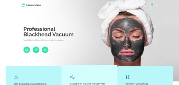 theblackheads.com - Theblackheads.com Beauty & Health Store with Exceptional Growth Potential
