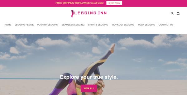 LeggingInn.com - Legging Dropship Store-BIg Niche-Pvt IG Marketing-Newbie Friendly-$1.5KBIN Bonus