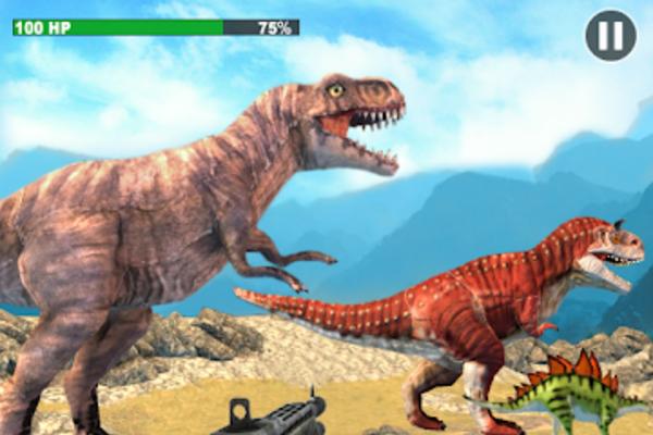 Dinosaur Hunter Survival Game: Free Hunting Games - Dinosaur Hunitng FPS Game