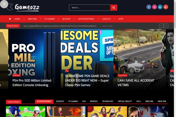 gameozz.com - 100% Fully Automated Video Blog Games, Shop - Free Hosting + Great Bonuses.