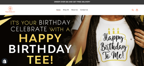 happybirthdayt.com - Perfect Gift Giving Business   100% Unique Product   Business Plan Included  