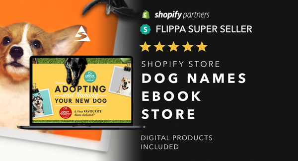 Dog-Ebook.com - Password:1234 | Dog Niche Ebook Shopify Store For Sale Startup Streams