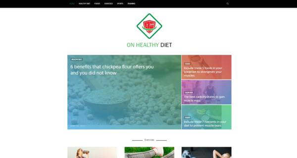 OnHealthyDiet.com - OnHealthyDiet.com: Healthy Diet, healthy lifestyle, organic food & diet
