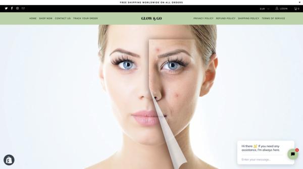 Glow & Go - Glow & Go | Faces make people | Shopify Online Shop