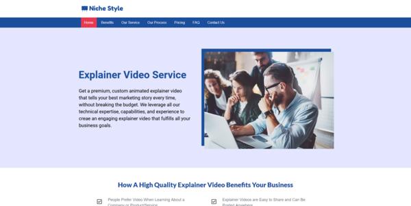 NicheStyle.co - PROFITABLE WHITEBOARD VIDEO BIZ - Made $2070 in 3 Months. Recession Proof Biz