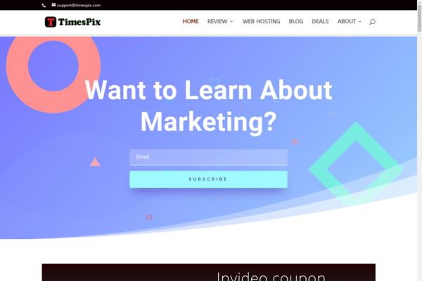 timespix.com - Original Review Content Website with DA 54 with high TF and CF