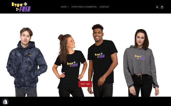 HypeFash.com - HypeFash.com  Start Your Own Fashion Brand |U.S. Supplier| Domain Worth $1,315