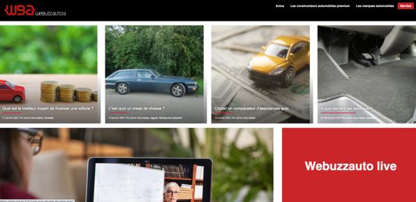 webuzzauto.fr - Advertising / Automotive