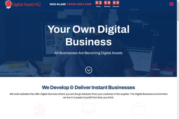 DigitalAssetHq.com - Own Your Own Digital Services Business Agency