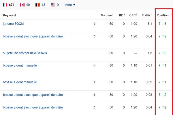zliciousconfections.com - Amazon France affiliate site generating 15$ Per Month