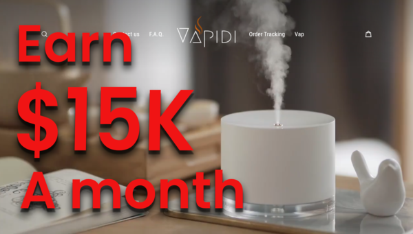 vapidi.com - DON'T BE LATE & RIDE THE WAVE! Trending Product: (10-15K USD/Month) $$$