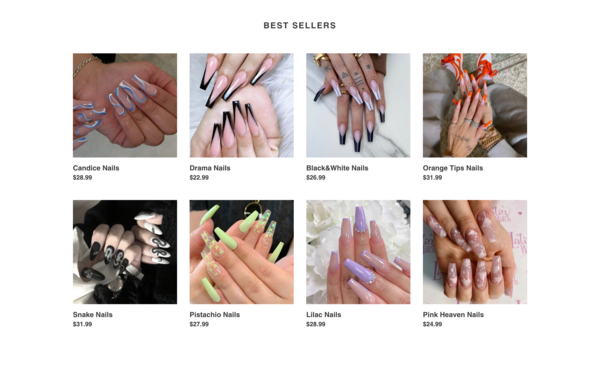 SaleNails.com - Sell Press On Nails Worldwide|10 X Mark Up|Highly Profitable|Supplier Integrated|Password: 123