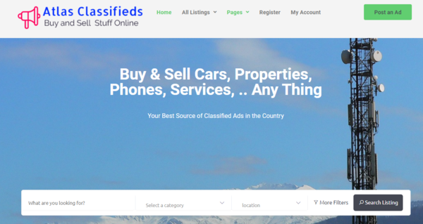 AtlasClassifieds.com - Passive Income Opportunity - Make Money Online Running a Classified Ads Website