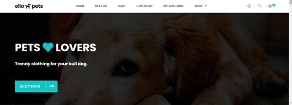 ellopets.com - pets website