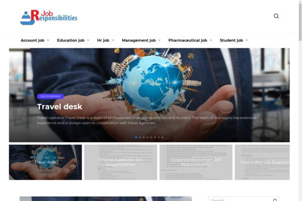 jobresponsibilities.org - Blog about job responsibilities. Made on WordPress in 2010.