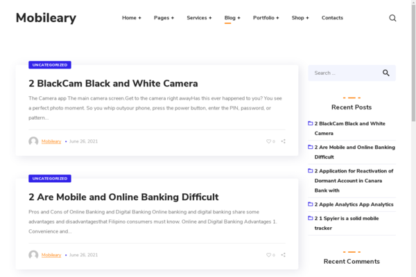 Mobileary.com - Wordpress Mobile niche with 500 Blog posts, Gets 100% organic Traffic