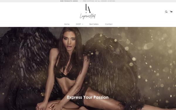 LingerieAlert.com - LingerieAlert.com| NO RESERVE | Premium Lingerie Store|$1,263 Domain Value