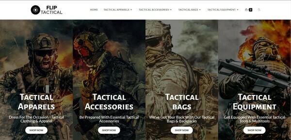 FlipTactical.com - Tactical Gear dropship store, items shipped from US warehouse - HUGE BIN BONUS