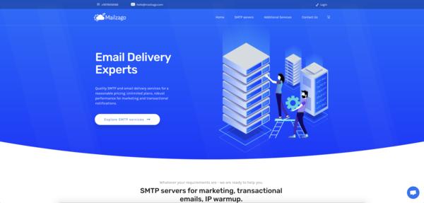mailzago.com - SMTP servers / Email Marketing / Email Services - Mailzago.com