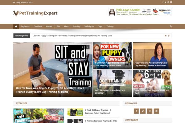 PetTrainingExpert.com - 100% Automated Pet Training Site - Huge Profitable - No Exp Req - Great Bonuses.