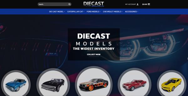diecastwholesaler.com - DIECASTWHOLESALERS.COM - Professional Diecast store READY-TO-GO! 5K+ Inventory