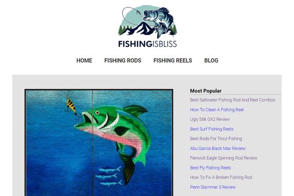 fishingisbliss.com - Advertising / Sports and Outdoor