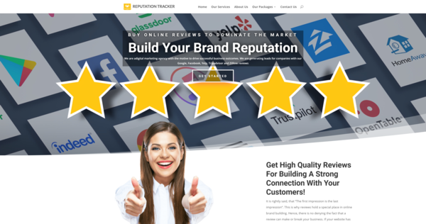 ReputationTracker.co - Reputation Management Agency, Newbie Friendly, Outsourced, Profit - $541 p/mo