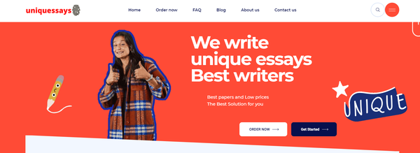 uniquessays.com - 100% Automated White Label Essay Writing Service Service. Average Order is 120$
