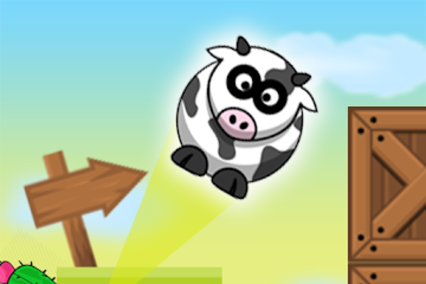 Jumping cow - Professional Game $$ With admob ads $$