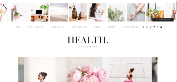 thishealthmagazine.com - This Health Magazine: A highly profitable website focusing on Health on sale now