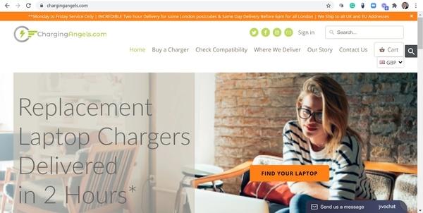 chargingangels.com - e-Commerce / Electronics