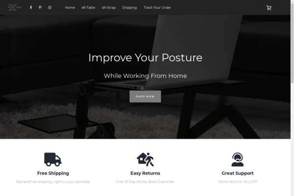 ex-tables.com - ex-tables.com - Shopify ecommerce store - dropship or private label