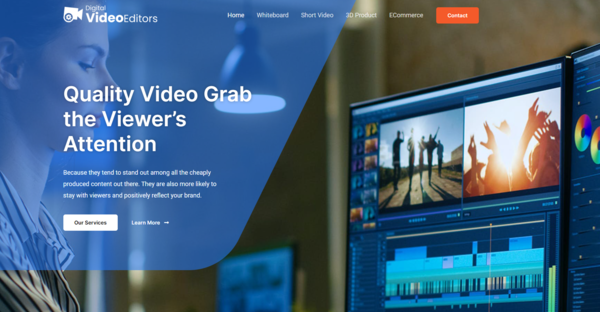 digitalvideoeditors.com - Outsource Video Editing business Generate up to $1k/month. No Experience Require