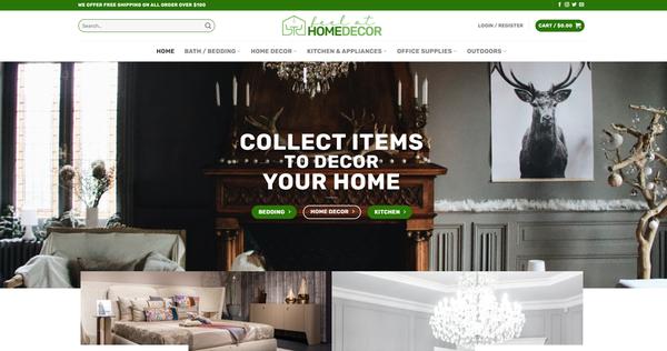 FeelAtHomeDecor.com - FEELATHOMEDECOR.COM Professional Home Decor store 3,500+ inventory USA Supplier
