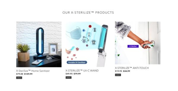 xsterilizestore.com - $242K Revenue Made In The Past 7 Months!