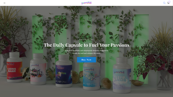 purifid.com - Health & Nutrition Brand - The next Athletic Greens? $30,000+ in assets!