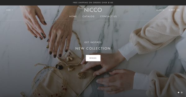 NICCO JEWELRY - NICCO JEWELRY | Dropshipping Business | High Quality Product/Supplier NICCO sells high quality jewelry product using dropshipping business model. Shopify store