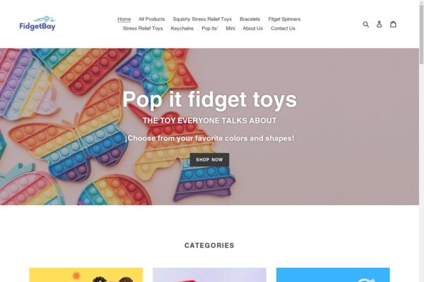 fidgetbay.com - I dropship fidget toys, that are super popular right now amount American kids.