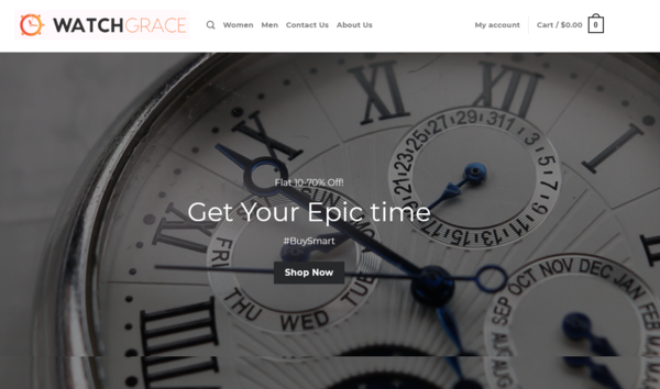 watchgrace.com - WatchGrace.com - Automated Dropshipping Business - No Reserve - +$1000 Worth