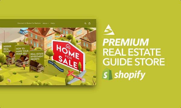 BooksForRealtors.com - Password: 1234 | Real Estate Ebook Shopify Store For Sale Startup Streams
