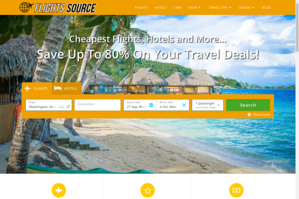 FlightsSource.com - FANTASTIC Monthly Earning Potential With This Newbie Friendly Travel Deals Site!