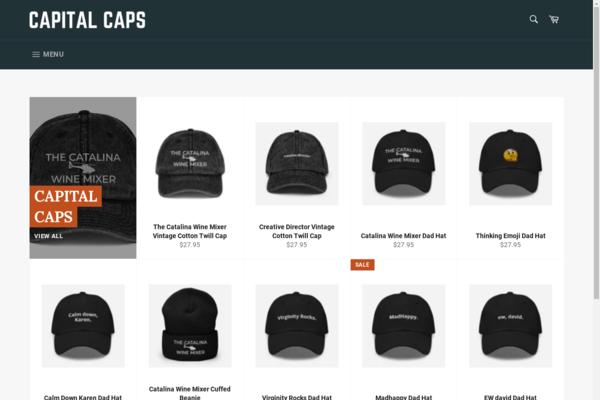 capitalcapsinc.com - Capital Caps Print on Demand Hat Business