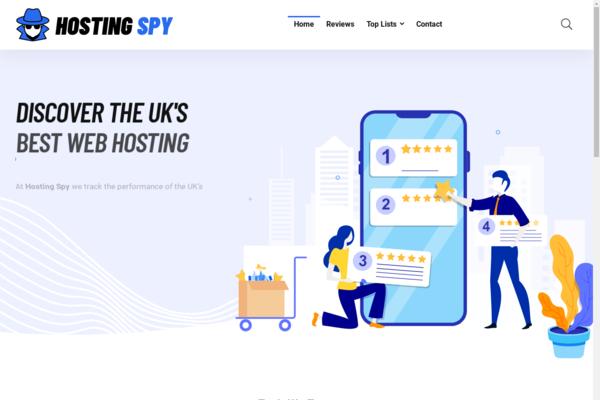 hostingspy.co.uk - Stunning UK Web Hosting Review & Comparison Website.