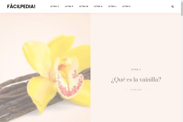 facilpedia.com - Spanish educational site