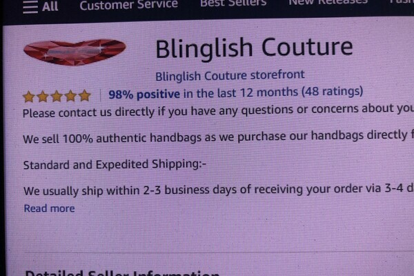 Blinglish Couture - e-Commerce / Design and Style