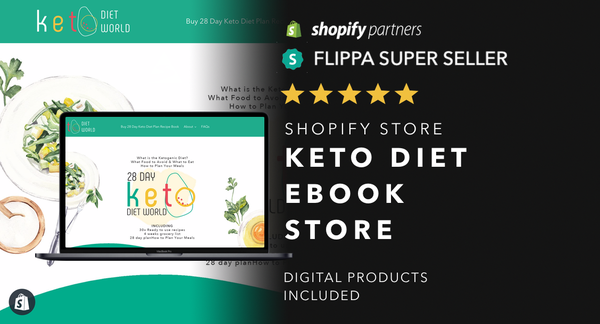 MyKetogenicDietPlan.com - Password:1234 | Keto Diet Ebook Shopify For Sale Startup Streams