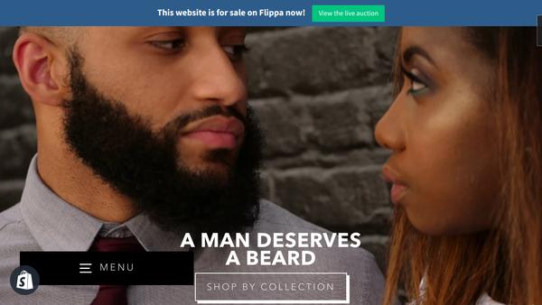 dbeards.com - Beard Niche Shopify Store - Ready to make money today