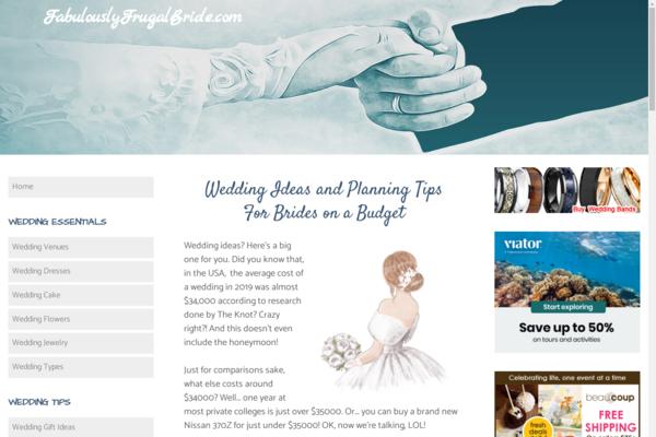 FabulouslyFrugalBride.com - Making Dream Weddings a Reality, Even on a Budget