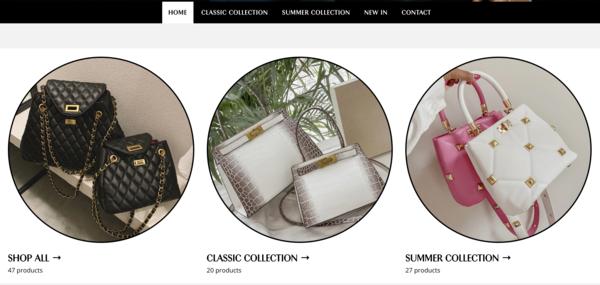 HandbagsFun.com - HandbagsFun.com   NO RESERVE   Dropshipping Handbag Store $1,142  Domain Value