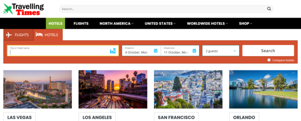 Hotels and Flights Booking - Start Your Own Travel Booking Business With Travel Search Engine